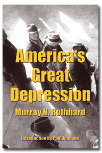 Voorkant America's Great Depression